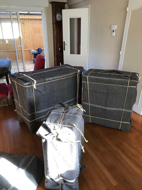 Protection des meubles avant un déménagement
