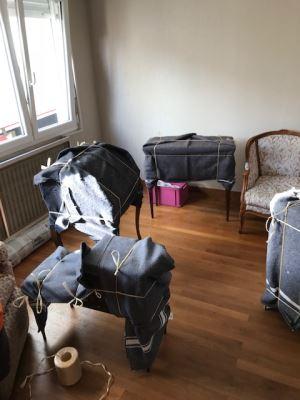 Protection des meubles pour un déménagement