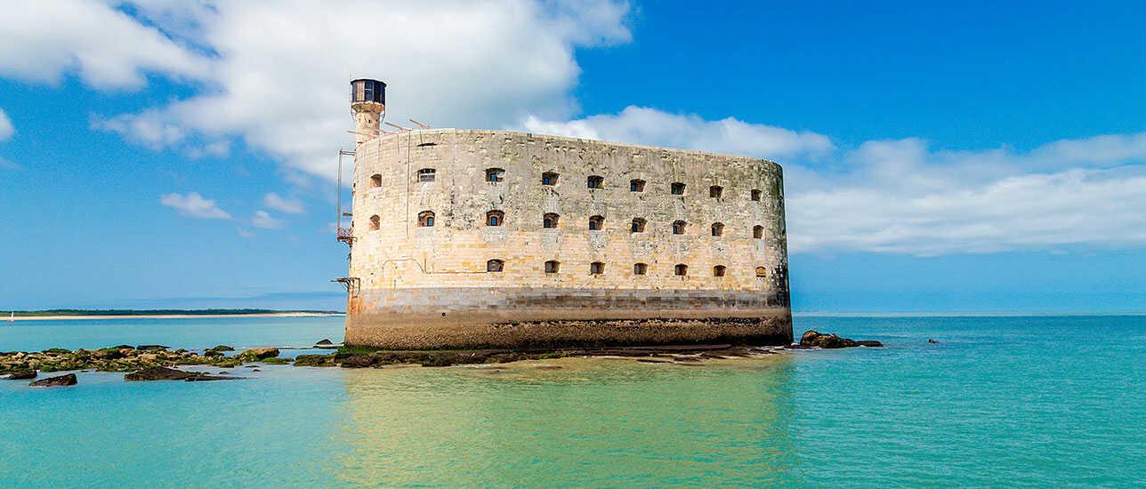 Fort Boyard une des attractions la plus connu de Nouvelle-Aquitaine