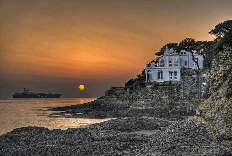 paysage typique de Gironde